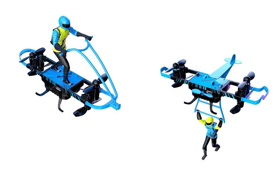 Drone Multi-fly