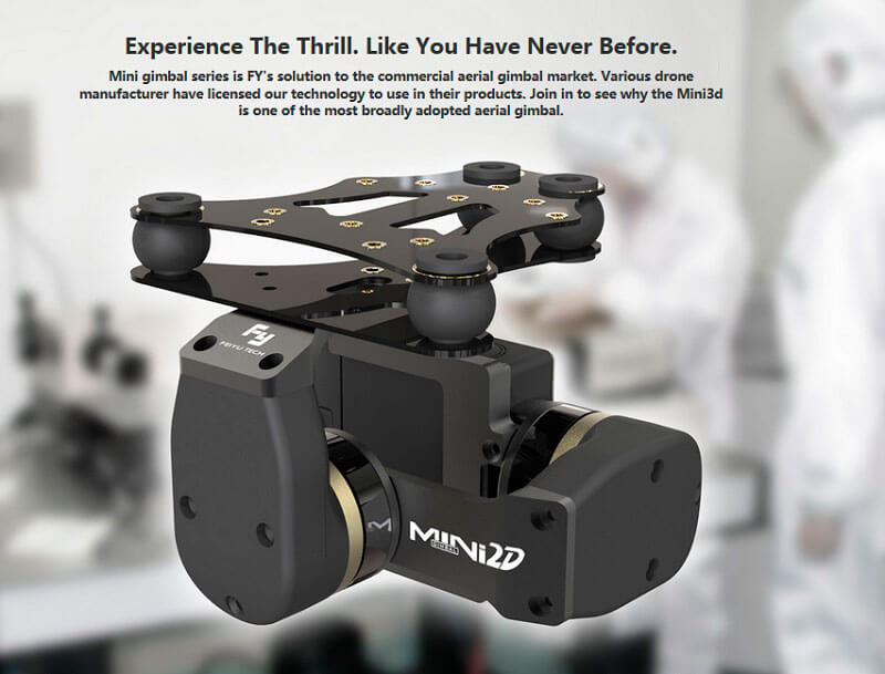 Gimbal Brushless Mini 2D