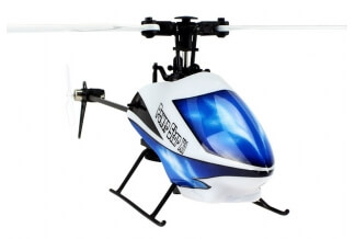 HELICOPTERO 3D SUPER ESTABLE V977 6 CANALES BRUSHLESS 24CM.