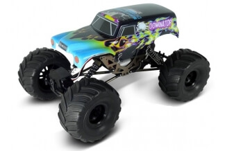 Coche RC HSP Rock Crawler 4x4 Dominator 1/18