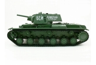 Tanque RC 2.4Ghz. 1/16 Russian KV-1's (Airsoft + Sonido + Humo)