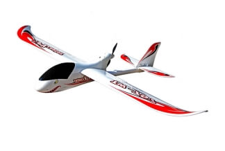 Avión RC FPV Raptor Plastic Unibody 1.6m Pusher