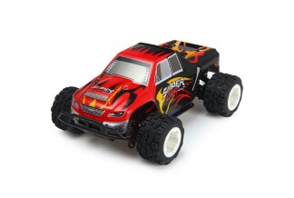 Coche RC WLToys A212 RTR Eléctrico Big Foot Truggy