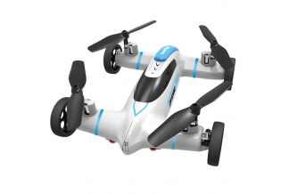 Coche Volador RC Syma X9 2.4Ghz 4CH 6 Ejes Looping 360º