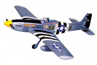 P-51D MUSTANG EP/GP 1580mm VQ Model
