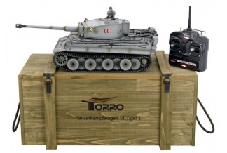 Tanque RC 1/16 Tiger I 2.4Ghz (Edición FULL METAL)