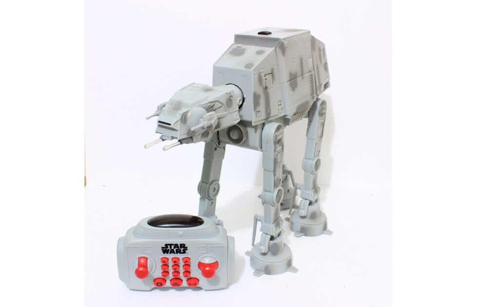 Robot interactivo at at comprar juguetes rc star wars - Robot blanc star wars ...