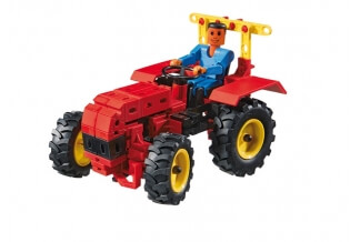 Tractors - Fischertechnik Advanced (3 Modelos)