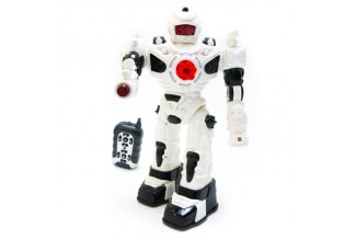 Robot RC Interactivo Dispara Misiles