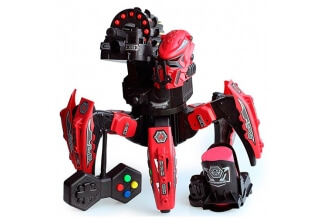 Robot RC Star Warrior DIY ¡Dispara Misiles y Discos!