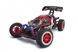 Coche Rc Brushless Buggy Scorpion Racing 4x4 1:8