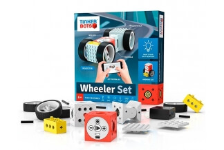 Wheeler Set Thinkerbots - Kit de robótica