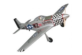 Top Flite P-51D Mustang 50CC - 2140mm.