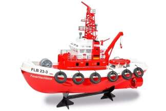 Carson Fire Boat Barco Rc 1:50 RTR