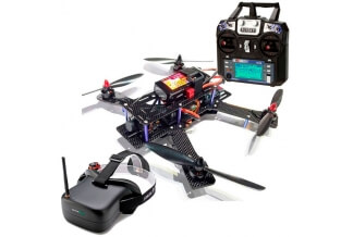 RACING DRONE 250 DE CARRERAS RTF (V2)