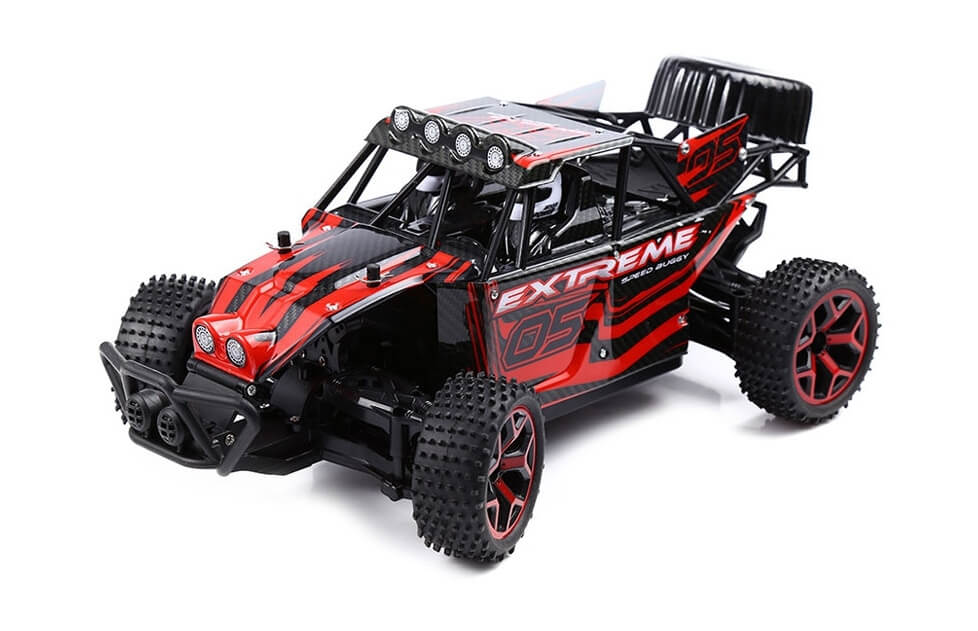 Coche Rc Red Knight Off road Truck RTR 1:18