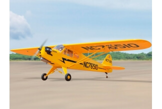 Piper J-3 Cub 2380mm Black Horse