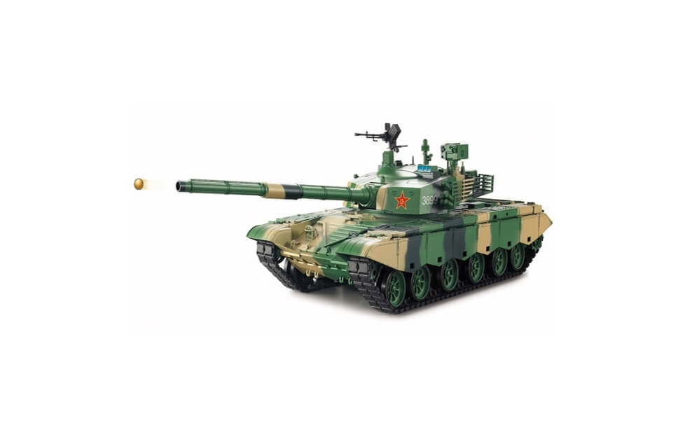 1:16 RC Tank ZTZ 99 MBT (Airsoft + smoke + sound)