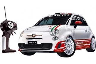Coche RC Fiat Abarth 500 R3T Escala 1/14