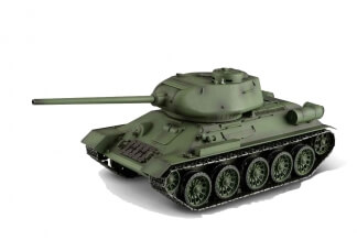 1:16 T34/85 RC Tank 2.4 GHz (Airsoft + smoke + sound) Special Edition