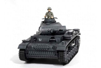 1:16 Panzer III. Ausf L RC Tank (Airsoft + smoke + sound) Special Edition