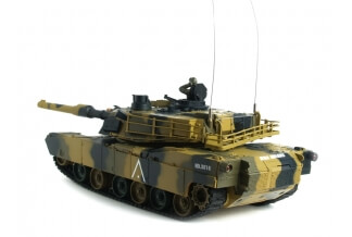 1:24 RC Battle M1 A2 Abrams (Airsoft)