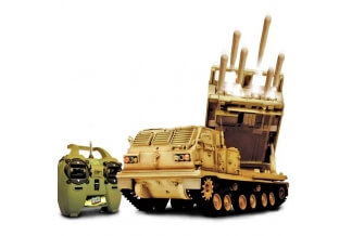 1/24 U.S. M270 Multiple Launch Rocket System RC Tank  (IR)