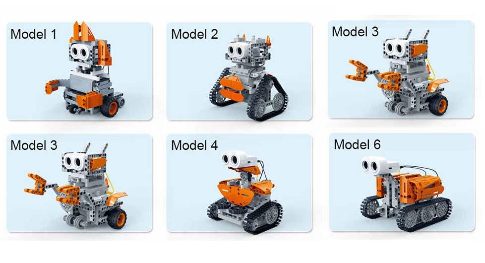 robot kit construcción