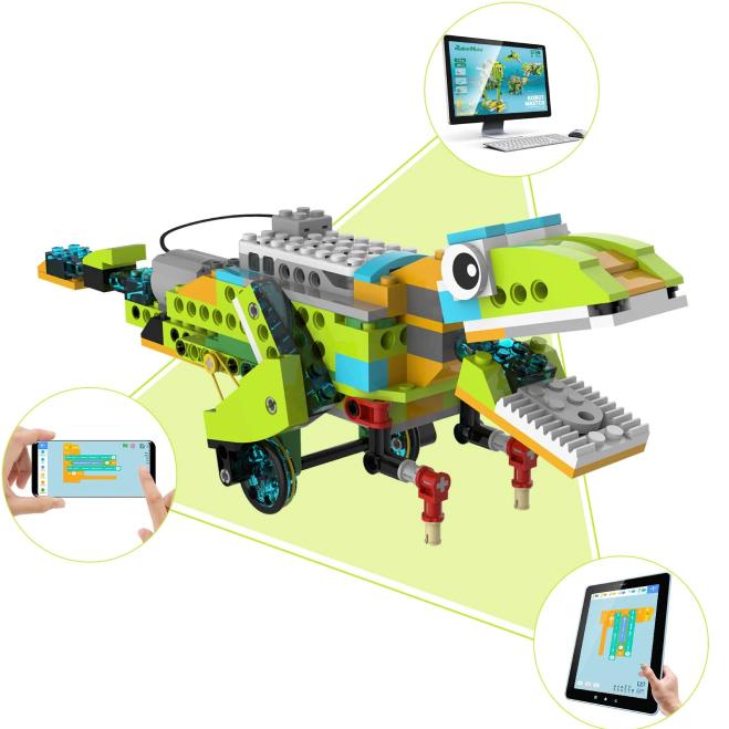 RobotMake Kit de robótica programable para niños Scratch 02