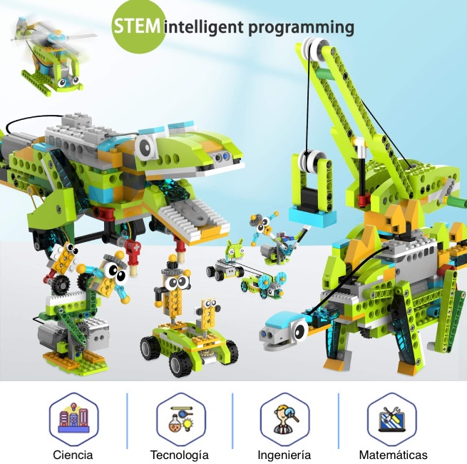 RobotMake Kit de robótica programable para niños Scratch