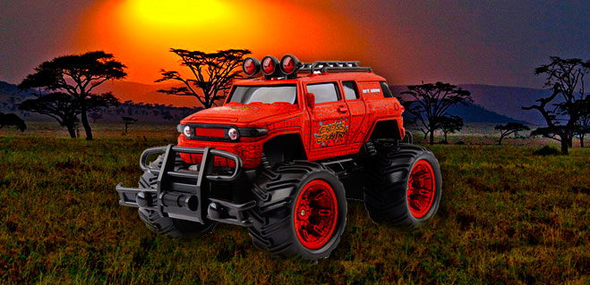 safari coche rc