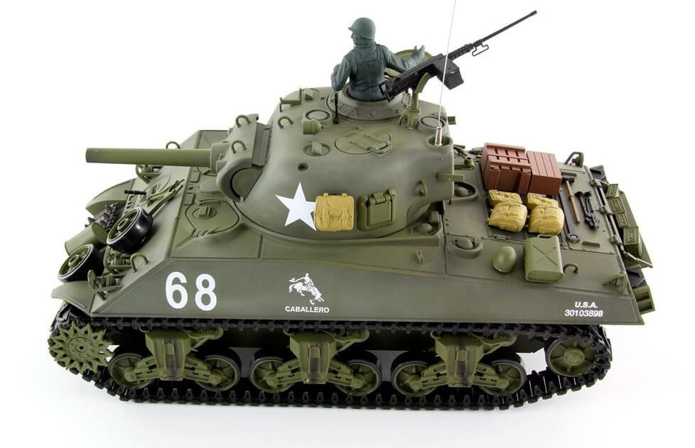 tanque rc sherman