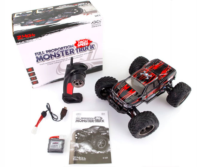 Coche rc iniciacion Monster Truck Montain Monster