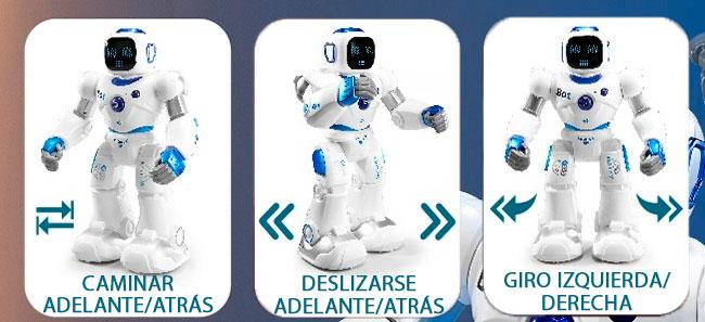 Robot para niños Gigante Programable 1088 06