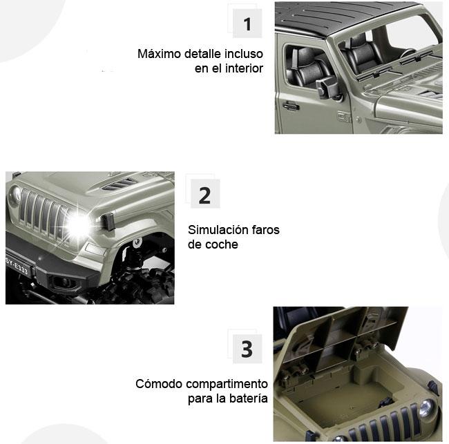 Coche RC Jeep Crawler