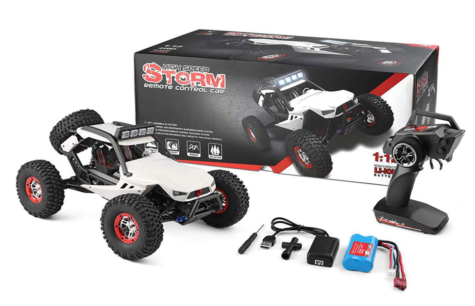 Packaging STORM - Coche RC 4x4