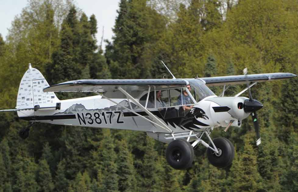 "Piper PA-18 Super Cub - FMS 1700mm (67"") Pintura"