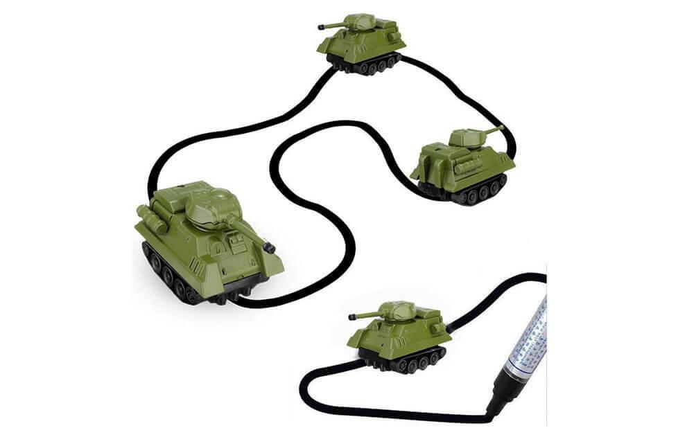 Mini Tanque Sigue-Líneas