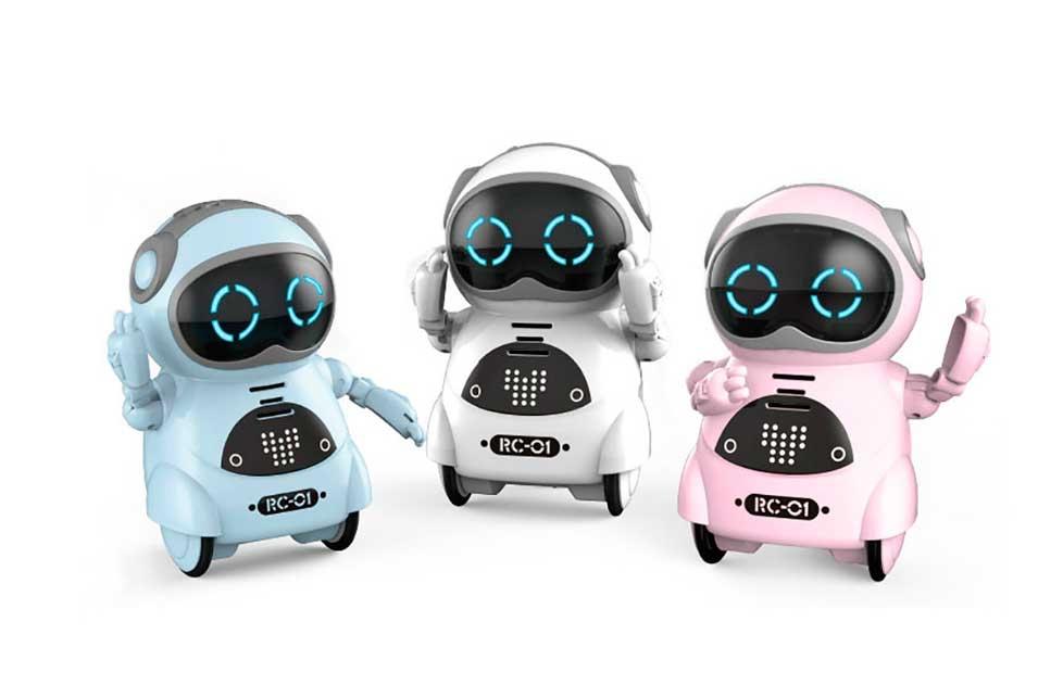 Pocket Robot - Mini Robot de Bolsillo Interactivo para niños