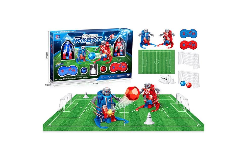 Set de Robots Fútbol Teledirigidos - Soccer Robot