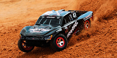 traxxas slash 1:10 racing truck sonido on board