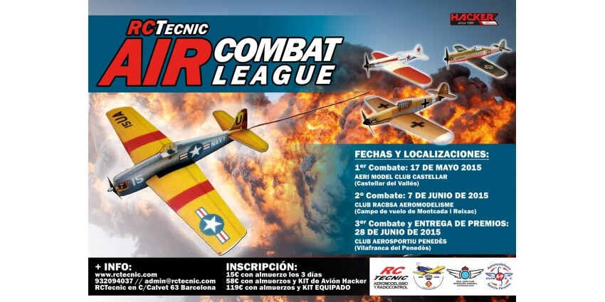 RCTecnic AIR COMBAT LEAGUE